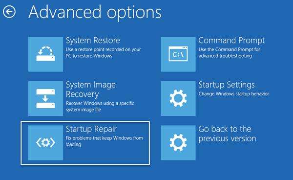 El equipo con Windows 10 no se inicia después de un apagón