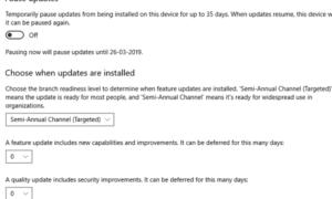 ¿Debería instalar las actualizaciones de Windows 10?