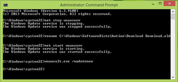 No se pudo instalar Windows Update con el código de error 0x8024200D