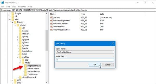El brillo adaptativo de Windows 10 no funciona o se apaga