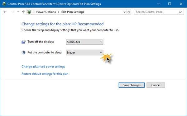 Windows 10 se desconecta automáticamente de forma aleatoria 1