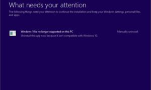 Windows 10 ya no es compatible con este PC