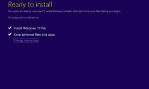 Fijar Windows 10 atascado en Listo para instalar
