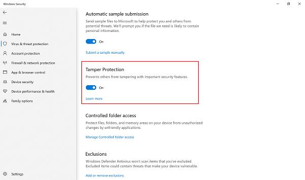 Windows 10 v1903 Mayo de 2019 Actualizar lista de nuevas características