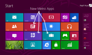 Cambios notables en la vista previa de la versión de Windows 8