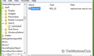 Cómo agregar la búsqueda al menú contextual en Windows 7/8/10