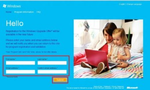 Oferta de Windows Upgrade: Actualice Windows 7 a Windows 8 en $14.99