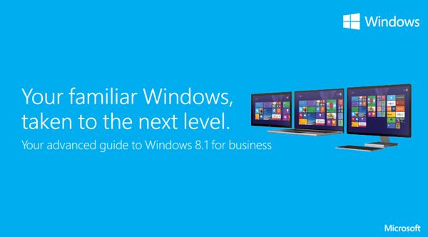 Descargar la Guía del usuario de Windows 8.1 Power para empresas desde Microsoft