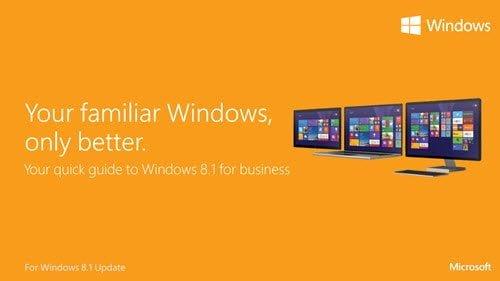 Guías de actualización de Windows 8.1 y vídeos de instrucciones