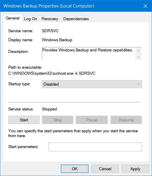 Corregido error 0x80070013 para Restaurar sistema, Copia de seguridad o Windows Update