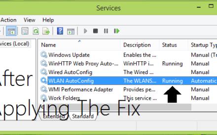 Windows no pudo iniciar el servicio WLAN AutoConfig en Windows