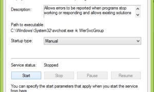 Corrección: Problema al subir al servicio de informes de errores de Windows.