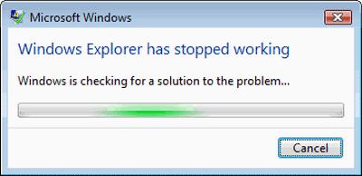 El Explorador de archivos de Windows se bloquea, se congela o deja de funcionar 1