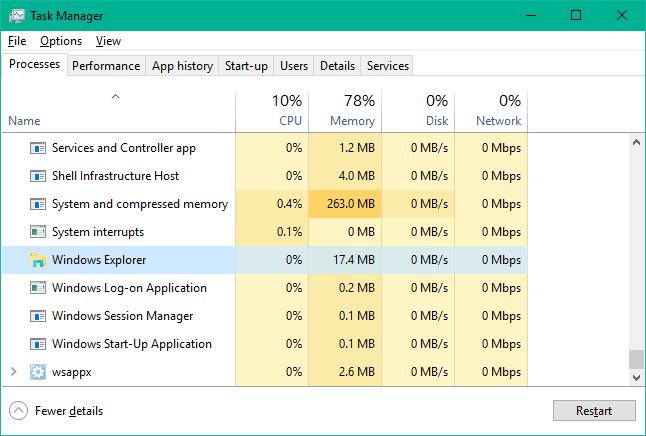 La barra de tareas no funciona, no responde o está congelada en Windows 10 1