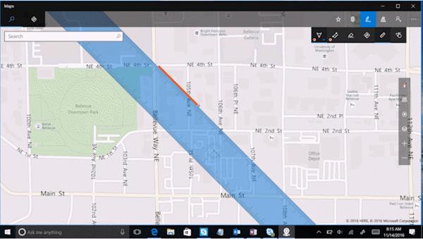 Cómo usar Windows Ink en la aplicación Windows 10 Maps