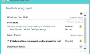 Corrección: Error de Windows Live Mail 0x8DE20003 o error del servidor 3204