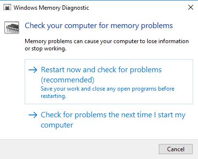 Corrección El controlador detectó un error del controlador en Windows