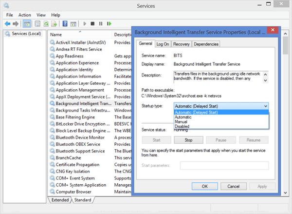 Solución de problemas: Los Servicios de Windows no se iniciarán