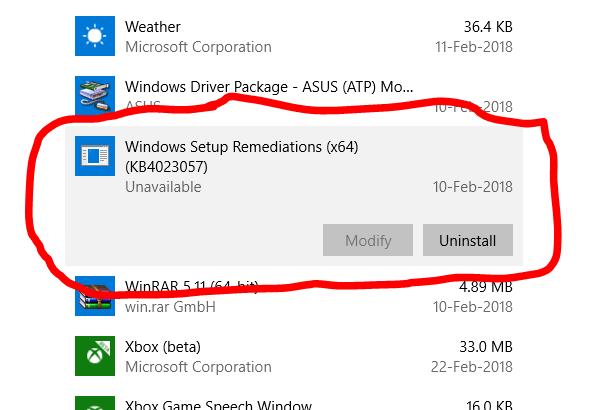 ¿Qué es Windows Setup Remediation? ¿Puedo quitarlo?