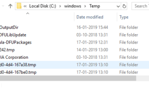 ¿Qué puedo eliminar de la carpeta de Windows en Windows 10?