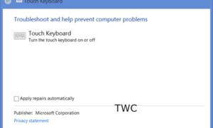 Configuración y consejos del teclado táctil de Windows 10