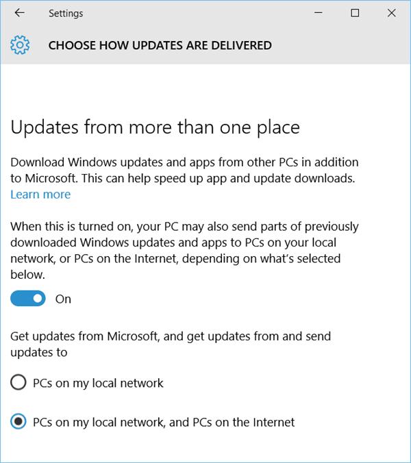 No permita que Windows 10 utilice su ancho de banda para enviar actualizaciones a otros equipos; ¡deshabilite WUDO!