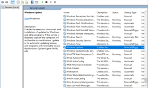 Error de Windows Update 0x80070003 en Windows 10