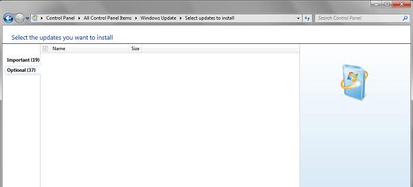 Windows Update no funciona, se ha atascado en la comprobación o la página está en blanco