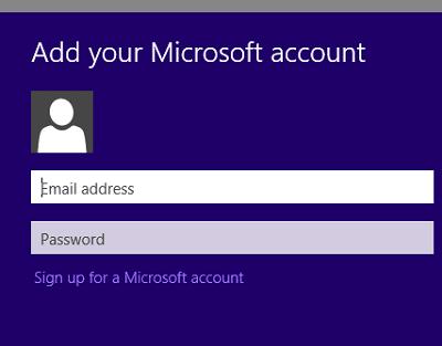 Cómo cambiar la cuenta de Microsoft almacenada en Windows 8 Store