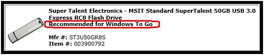 Crear un entorno y espacio de trabajo portátil de Windows To Go
