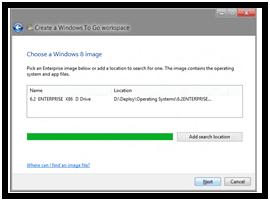 Crear un entorno y espacio de trabajo portátil de Windows To Go 2
