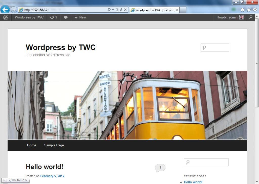Cómo instalar el blog de WordPress usando Microsoft IIS: Parte 2