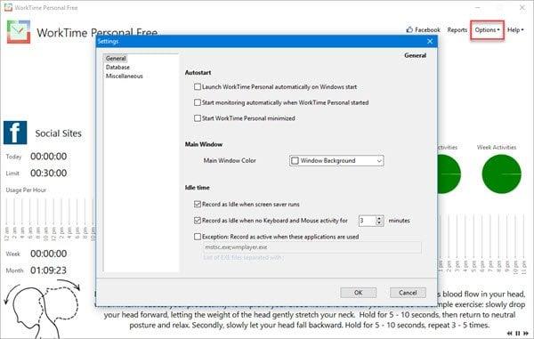 WorkTime Personal es un software gratuito de monitorización de ordenadores para Windows