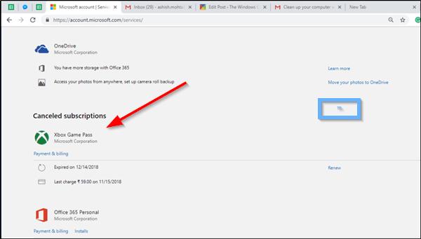 Cómo cancelar la suscripción al abono de Xbox Game Pass en Xbox One 38