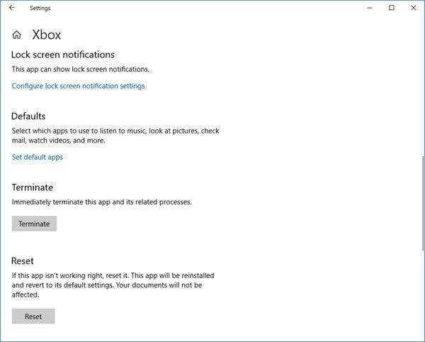 La barra de juegos de Windows 10 Xbox no funciona o no se abre