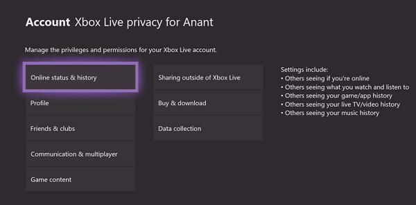 Cómo configurar la privacidad de Xbox y la seguridad en línea para niños