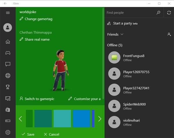 Aplicación para Windows 10 Xbox: Funciones y uso 9