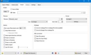 XnConvert es un conversor y redimensionador de imágenes masivo para Windows 10