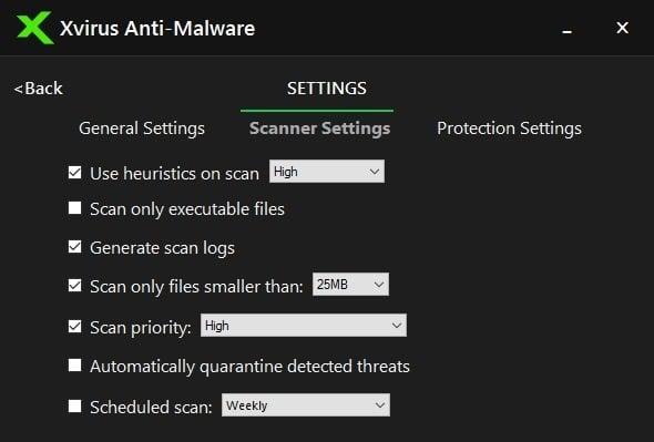 Xvirus Anti-Malware para Windows se ejecutará junto con su antivirus principal