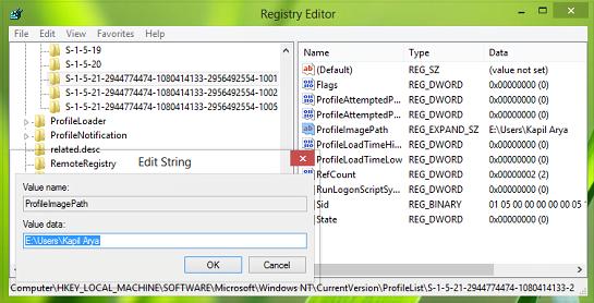 Ha iniciado sesión con un error de perfil temporal en Windows
