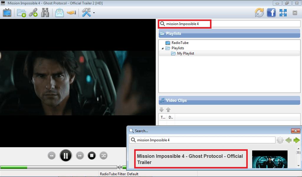 Ver vídeos directamente, sin abrir un navegador, con YTube Player