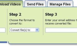 Zamzar convierte archivos a diferentes formatos sin necesidad de descargar software