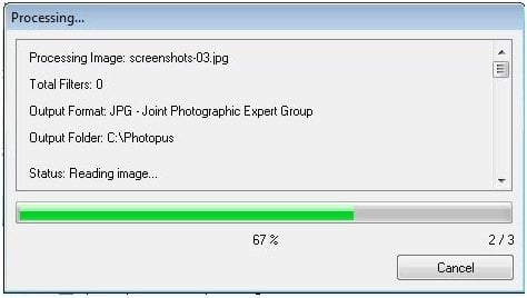 Photopus, un software de edición de fotos rápido para Windows 4