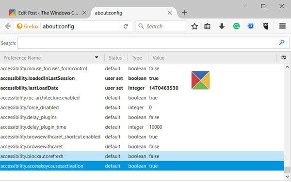 Las páginas de configuración ocultas ofrecen ajustes adicionales para los navegadores Edge, Chrome y Firefox.