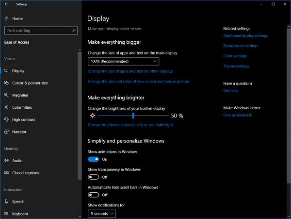 Cómo habilitar Mono Audio en Windows 10