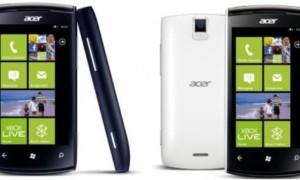 Acer Allegro: Windows Phone Mango de bajo costo - Especificaciones técnicas
