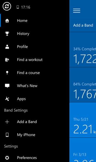 Cómo emparejar Microsoft Band 2 con Windows 10 Mobile