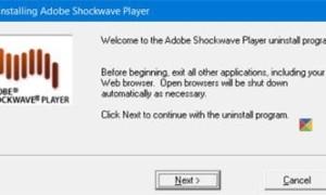 Cómo desactivar, desinstalar Flash y Shockwave en Chrome, IE, Firefox, Edge