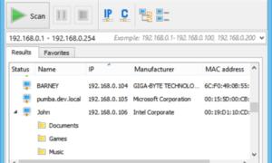 Advanced IP Scanner, un escáner IP gratuito para Windows