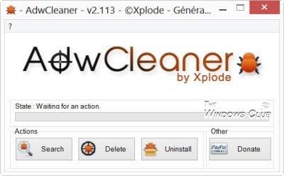 Herramientas gratuitas de limpieza y eliminación de barras de herramientas para sus navegadores 1